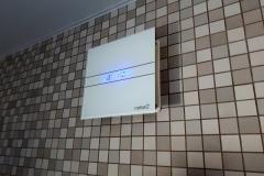 подключенный вентилятор для ванны cata