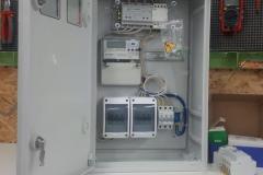 Щит учета электроэнергии для частного дома с электрокотлом