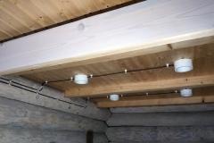 винтажная электропроводка на даче