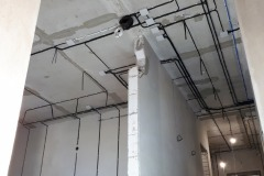 Электрика в квартире по потолку
